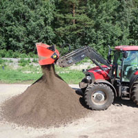 ALLU DL-Series for landscaping and agricultural projects